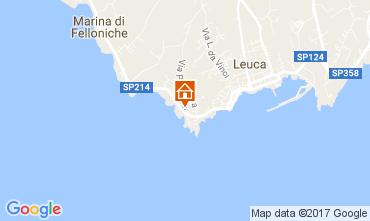 Karte Santa Maria di Leuca Appartement 107977