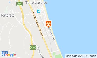 Karte Tortoreto Appartement 96795