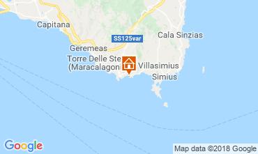 Karte Villasimius Appartement 51993
