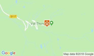 Karte Val Thorens Appartement 116916