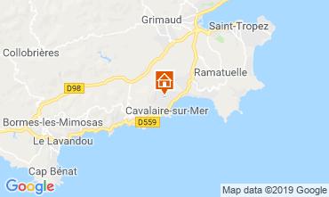 Karte Cavalaire-sur-Mer Villa 117917