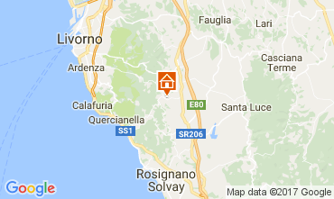 Karte Rosignano Marittimo Appartement 109984