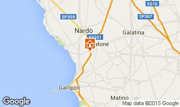 Karte Gallipoli Appartement 79039