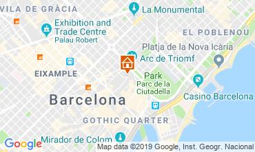 Karte Barcelona Appartement 118351