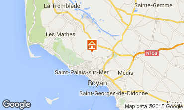 Karte Saint Palais sur Mer Mobil-Home 75366
