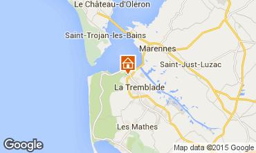Karte La Tremblade Mobil-Home 9419
