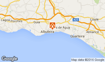Karte Albufeira Appartement 102566