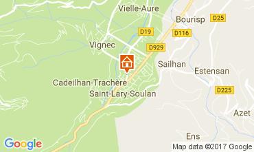 Karte Saint Lary Soulan Appartement 110661