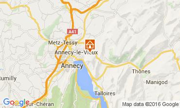 Karte Annecy Haus 12927