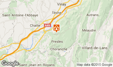 Karte Villard de Lans - Corrençon en Vercors Chalet 52709