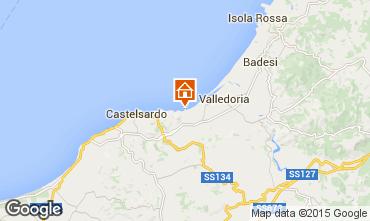 Karte Valledoria Appartement 68457