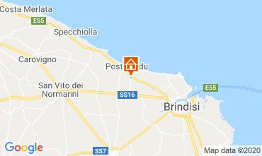 Karte Brindisi Außergewöhnliche Unterkunft 117050