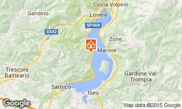 Karte Sarnico  Appartement 91394