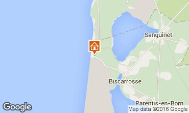 Karte Biscarrosse Haus 53445