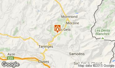 Karte Les Gets Chalet 49656