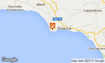 Karte Sciacca Appartement 78250