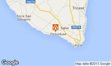 Karte Pescoluse Villa 72212