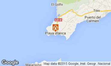 Karte Playa Blanca Villa 55790