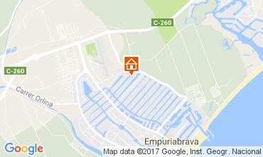 Karte Empuriabrava Haus 109295