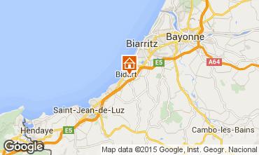 Karte Biarritz Mobil-Home 41831