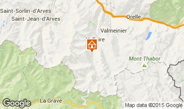 Karte Valloire Appartement 50293