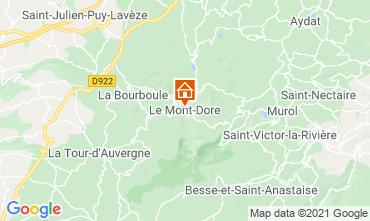 Karte Le Mont Dore Appartement 3906