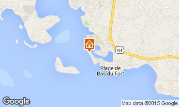 Karte Gosier (Guadeloupe) Studio 8004