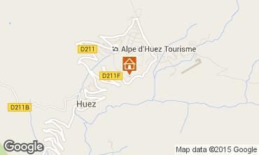 Karte Alpe d'Huez Studio 38587