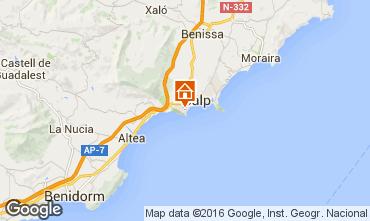 Karte Calpe Villa 75907