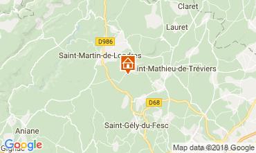 Karte Saint-Gély-du-Fesc Haus 114910