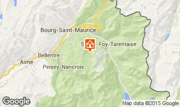Karte Les Arcs Appartement 80074