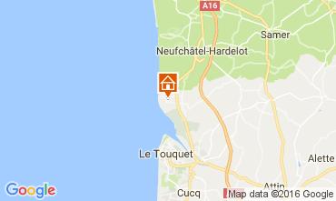 Karte Le Touquet Haus 80399