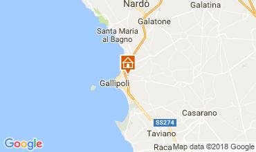 Karte Gallipoli Appartement 95183