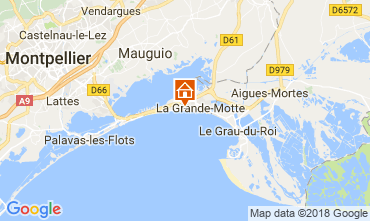 Karte La Grande Motte Studio 116057