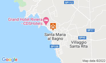 Karte Santa Maria al Bagno Appartement 63668