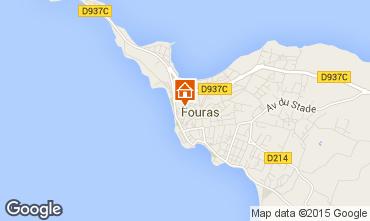 Karte Fouras Ferienunterkunft auf dem Land 27604
