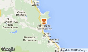 Karte Primorsko Appartement 68042