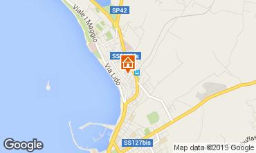 Karte Alghero Appartement 79617