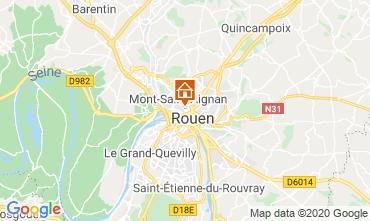 Karte Rouen Studio 118116
