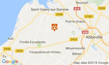 Karte Saint Valéry sur Somme Schloss 92371