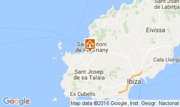 Karte Ibiza Appartement 107038