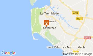 Karte La Palmyre Mobil-Home 86552