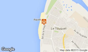 Karte Le Touquet Appartement 101892