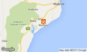 Karte Malindi Villa 33970