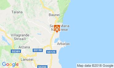 Karte Lotzorai Villa 37184