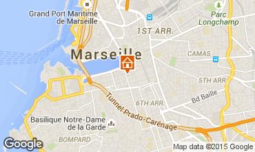 Karte Marseille Studio 5953