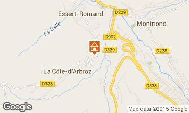 Karte Morzine Chalet 80713