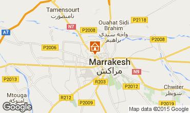 Karte Marrakesch Appartement 94414