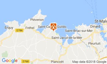 Karte Saint Cast Le Guildo Haus 113632