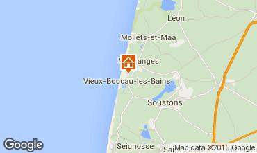 Karte Vieux Boucau Appartement 10059